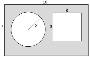 Printables Find The Area Of The Shaded Region Worksheet With Answers area of shaded region worksheet davezan find the davezan