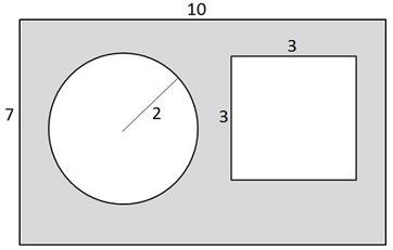 Worksheets Area Of Shaded Region Worksheet find the area of shaded region worksheet abitlikethis region