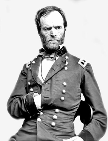 the timeline of william tecumseh sherman A chronology of key events in the life of william t sherman, 1820-1891.