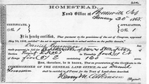 a history of the homestead act and the life of homesteaders Nassau suffolk education crime politics towns investigations data and maps commuting li life history  but the 1862 homestead act had no racial restrictions, and after the 1866 civil rights act .