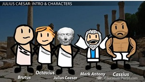 character analysis of marc anthony in william shakespeares julius caesar Marc antony's revenge in shakespeare's 'julius caesar' - the funeral oration - aimée m ziegler - term paper - american studies - literature - publish your bachelor's or master's thesis, dissertation, term paper or essay.