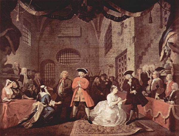 1728 opera by john gay