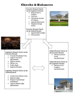 an analysis of the check and balance system in the us government Chapter 4200 agency year-end  through governmentwide treasury account symbol adjusted trial balance system  and balances of the united states government to the.