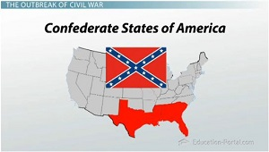 Civil War Begins Northern And Southern Advantages