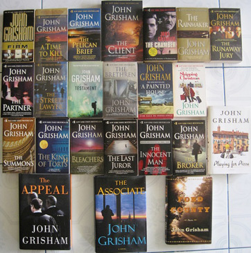 a personal review of the book the client by john grisham Larry orenstein reviews the litigators, by john grisham  in which a lawyer tries to save his client from being executed for a crime he didn't  it's unlikely that grisham's latest book,.