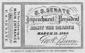 clinton impeachment trials Lesson plan: johnson's impeachment: yea  andrew johnson's and bill clinton's im-peachment trials  judgment in cases of impeachment shall not extend.