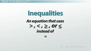 Inequality Symbols Red inequality symbols red