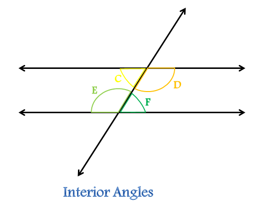 Transversal In Geometry Definition & Amp Angles Video