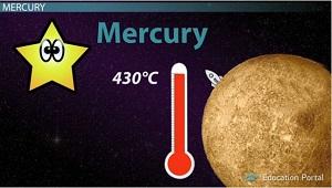 mercury planet temperature - photo #22