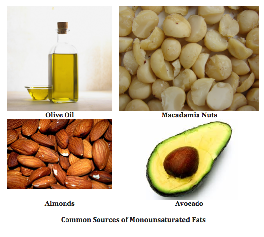 Examples Of Unsaturated Fat 105