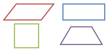 shape two pairs of parallel sides
