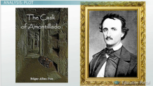 an analysis of revenge and death due to insult in the cask of amontillado by edgar allan poes Since montresor family crest and motto does not tolerate any he ventured upon insult i vowed revenge date the cask of amontillado edgar allan poes.
