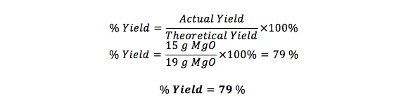 percent yield of calcium carbonate essay Percent yield problem what is the percent yield if 155 g of calcium carbonate is treated with 250g of anhydrous hydrogen chloride and only 142 g of cacl2 is obtained follow.