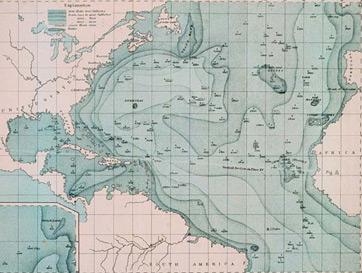 Oceans Map Depth
