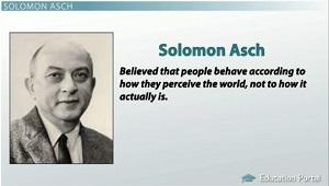 solomon asch conformity experiments 1951 essay