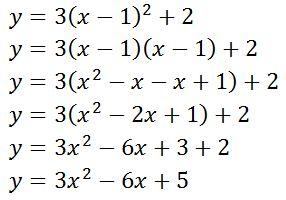 convert quadratic to vertex form calculator. Black Bedroom Furniture Sets. Home Design Ideas