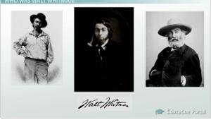 walt whitman style of writing