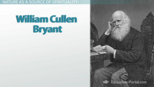 views on life and death in william cullen bryants thanatopsis Thanatopsis william cullen bryant  when thoughts of the last  are shining  on the sad abodes of death,  the youth in life's green spring, and he who goes.
