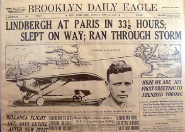 a biography of charles lindbergh Charles augustus lindbergh (february 4, 1902 – august 26, 1974), known as lucky lindy and the lone eagle, was a pioneering united states airplane pilothe became famous for making the first solo non-stop flight across the atlantic ocean in 1927.