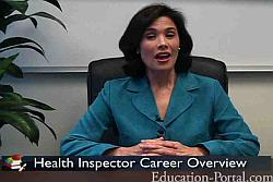 Health Inspector Video: Educational Requirements for a Career in Public Health