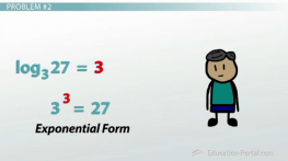 how to solve problems using logarithms
