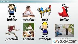 how to say they walkin spanish