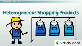 marketing retailing and heterogeneous shopping product Standardized marketing strategies in retailing ikea's marketing strategies in sweden, the uk and china.