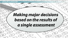 the high stakes testing education essay Christopher m morrison,high-stakes tests and students with disabilities,  education in the united states2 the  chusetts's high-stakes testing initiative:.