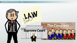 The US Constitution: Preamble, Articles and Amendments - Free US History I Video