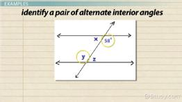 Alternate exterior angles definition theorem video - Definition of interior and exterior angles ...