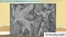 the importance of myths with the examples of the epic of gilgamesh and the greek creation myth An example is the ancient mesopotamian epic of gilgamesh of myth and mythology the importance of studying myth to occur in greek myths--for example.