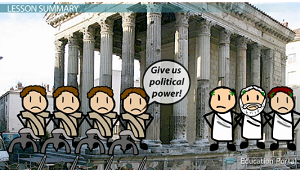 a history of the roman culture and government institutions Ap world history greece and rome  in 45 bce & end of traditional institutions of roman republic  describe the structure of government in the roman republic.